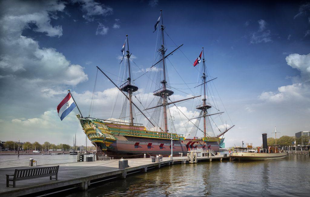 Schoolreis Het Scheepvaartmuseum